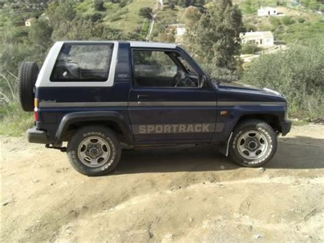 Daihatsu Sportrak Daihatsu Sportrak Description Of The Model Photo Gallery
