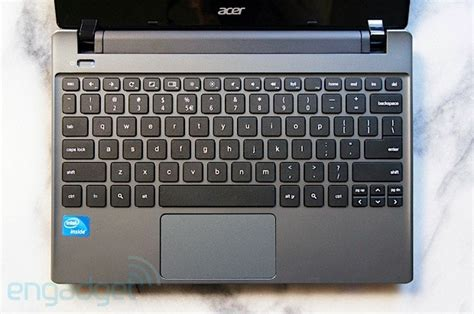 keyboard layout google chrome acer c7 chromebook review chrome os on the cheap but at