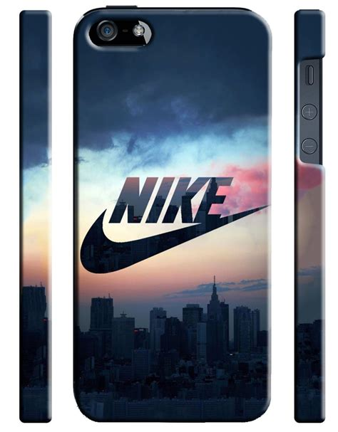 Casing Hp Iphone 6 6s Nike Logo Design Custom Hardcase Cover nike just do it logo iphone 4s 5s 5c 6s 7 plus se cover 12 cases covers skins