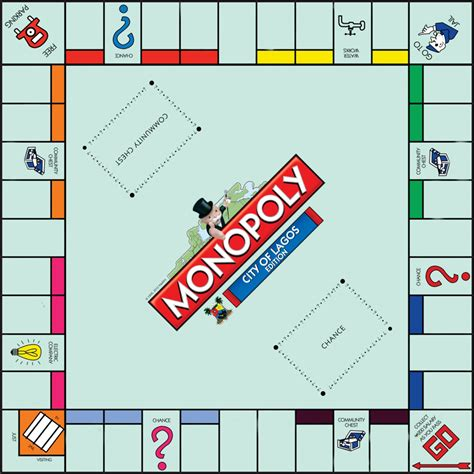 custom monopoly board template monopoly board