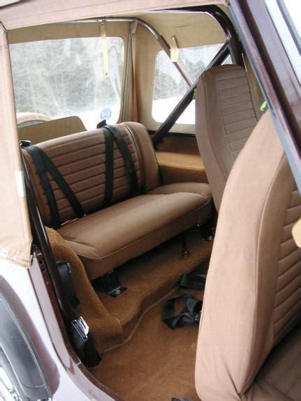 cj upholstery jeep cj7 1981 interior back jeep cj7