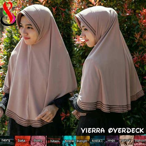 Jilbab Kerudung Daily Overdeck jilbab vierra overdeck sentral grosir jilbab kerudung i supplier jilbab i retail grosir