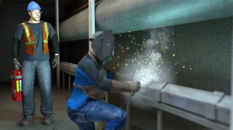 welding safety video convergence training