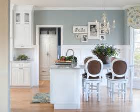 Ideas To Paint A Kitchen example of a classic eat in kitchen design in other with a farmhouse