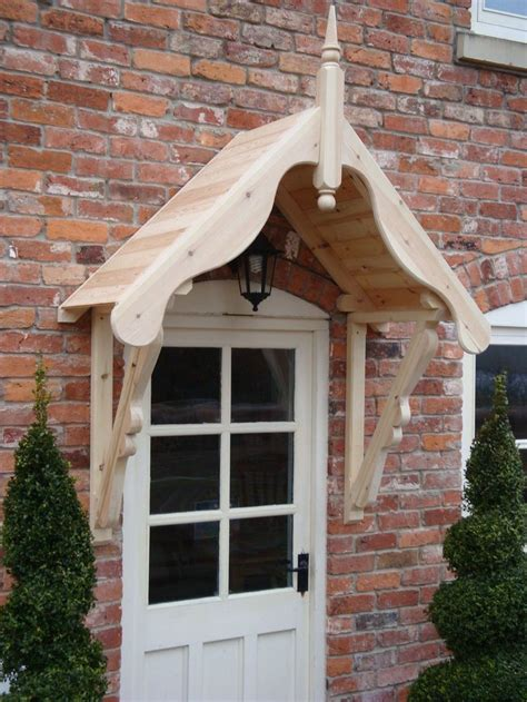 Timber Front Door Canopy Give An Attractive Look To Your Home Entrance With Door Canopy Pickndecor