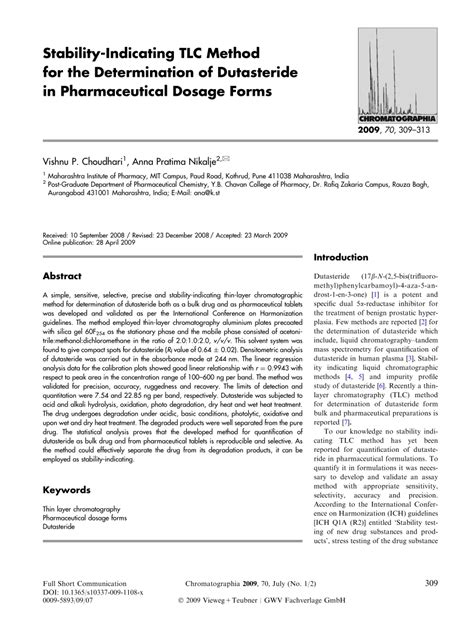 design of dosage form pdf stability indicating tlc method for the pdf download
