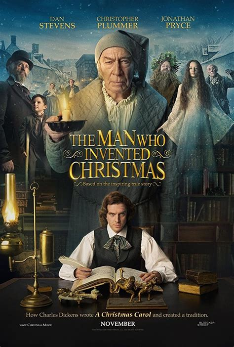 the man who invented christmas dvd release date march 6 2018