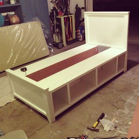 how to make a twin bed diy twin bed built in 2 days some needs to build this for
