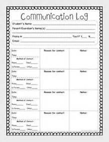 communication record template 17 best ideas about parent communication log on