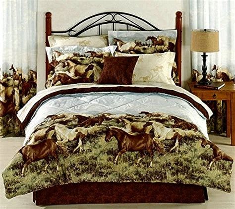 13 beautiful horse print bedding sets