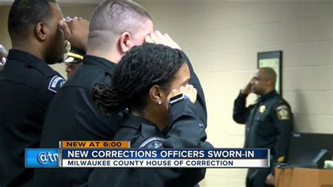 milwaukee county house of corrections milwaukee county house of correction graduates new jailor class works to combat