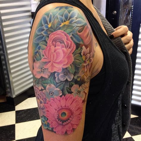 flower tattoo designs on arm 18 arm sleeve tattoos designs ideas design trends
