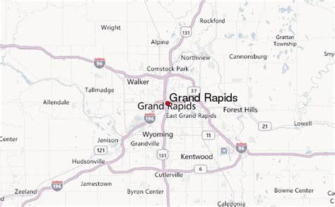 grand map us grand rapids location guide