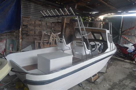Pancing Makassar kapal fiber buatan indonesia kapal mancing