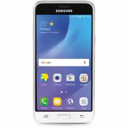 consumer cellular home phone consumer cellular galaxyj3 wht samsung galaxy j3