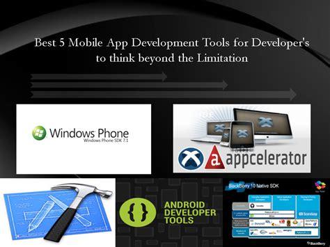mobile application development tools best 5 mobile app development tools in 2013 for mobile