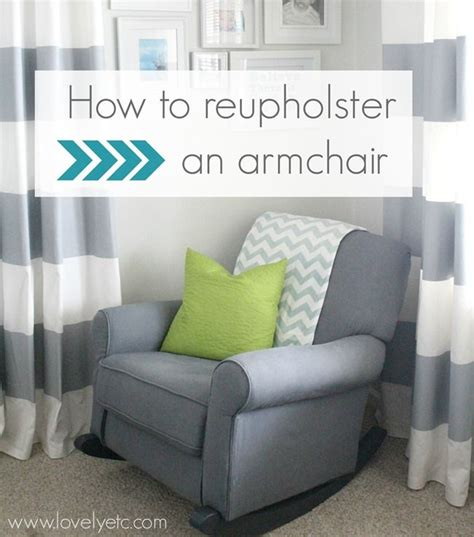 reupholster armchair tutorial reupholster an armchair armchairs and redheads