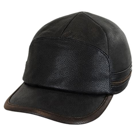 Earflap Cap stetson leather earflap fitted baseball cap fitted