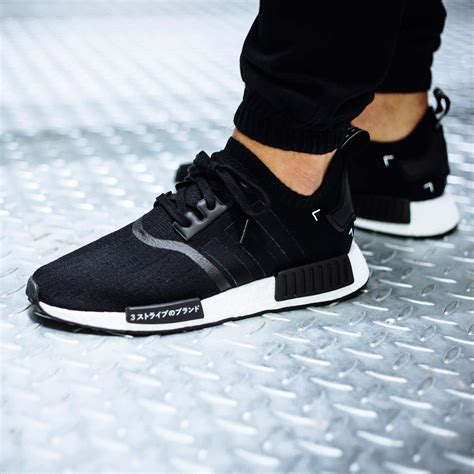 D1072 Adidas Nmd R1 another look at the adidas nmd r1 primeknit black kicksonfire