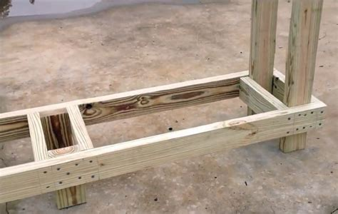 4 free firewood rack plans built from 2x4s two 30