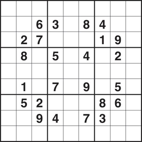 Sudoku 2 714 Medium Life And Style The Guardian