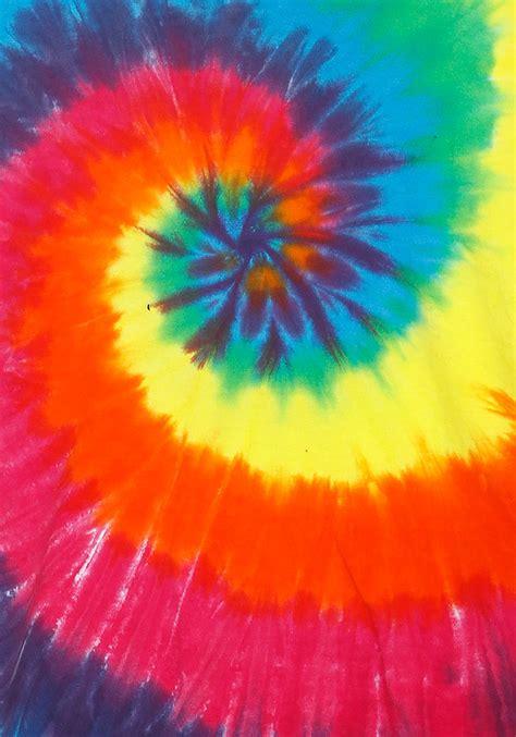 Mukena Tie Die 1 youth rainbow spiral tie dye t shirt