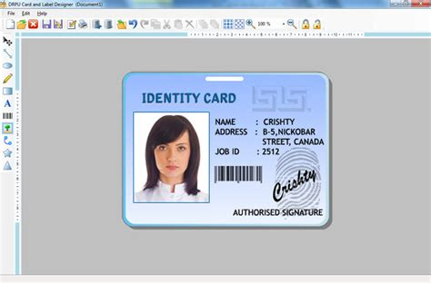 photo id card software free create labels product sticker asset tags flyers leaflets