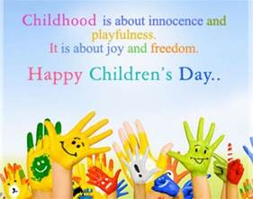 best happy childrens day quotes and wishes 2016
