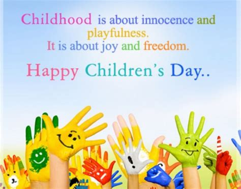 s day about happy children s day images quotes speech wishes messages