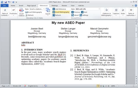 how to put a little number next to a word ms word skills user manual 171 docear