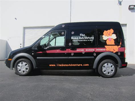 ford transit connect vehicle graphics costa mesa ca