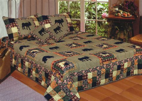 buy moose medley quilt king size 108 inch x 90 inch