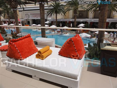 Encore Beach Club Daybed Located At Wynn Encore Hotel 50