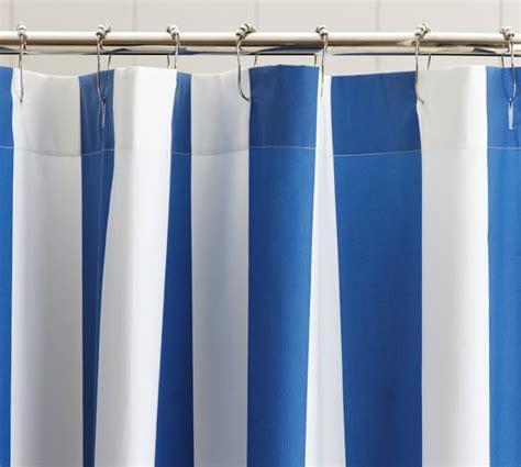 pb curtains pb classic stripe shower curtain pottery barn