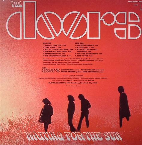 waiting for the sun waiting for the sun part one volume 1 books the doors waiting for the sun vinyl at juno records
