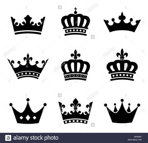Mahkota Universal sign emperor king icon princess pictogram symbol pictograph stock vector