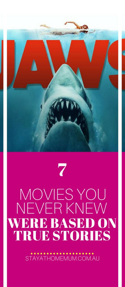 jaws home edition version 2018 canadialog 7 movies you never knew were based on true stories