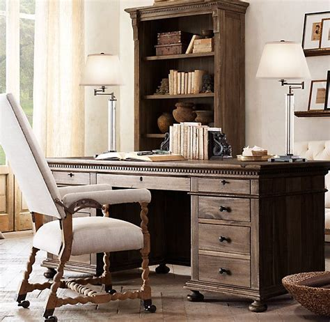 restoration hardware desk 17 best images about ideas for study on chairs clock and printers
