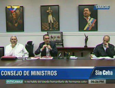destituyen a un vicepresidente de consejo de ministros de cuba consejo de ministros analiza acuerdos de gira presidencial