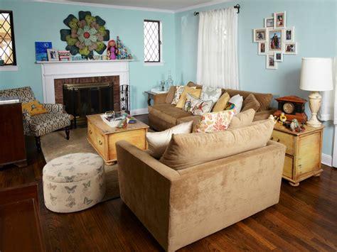 hgtv furniture living room downsized living room style hgtv
