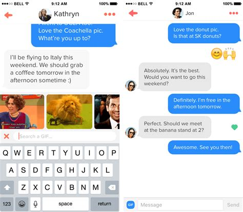 Search In Tinder Tinder Now Allows Gifs In Messages Will They Make You At Flirting