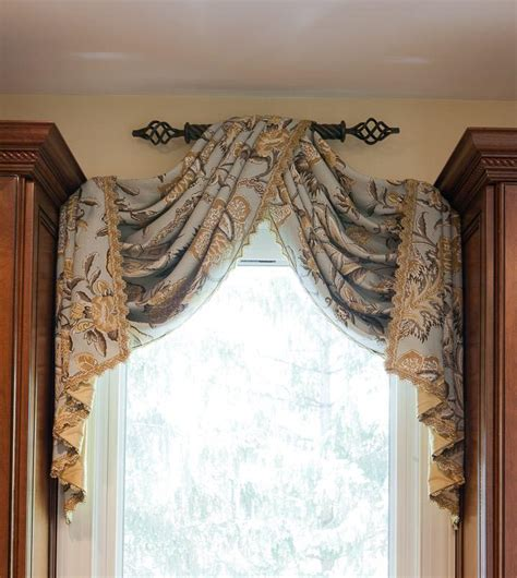 Handmade Window Treatments - white granite countertops what to do with