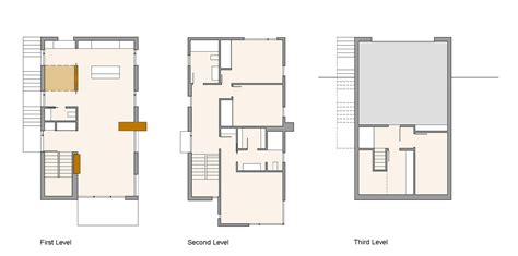 compact floor plans first second third level plans compact contemporary