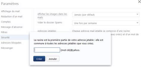 yahoo email alias comment cr 233 er un alias d adresses email dans yahoo mail