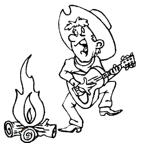 coloring pages country music cowboy malvorlagen malvorlagen1001 de