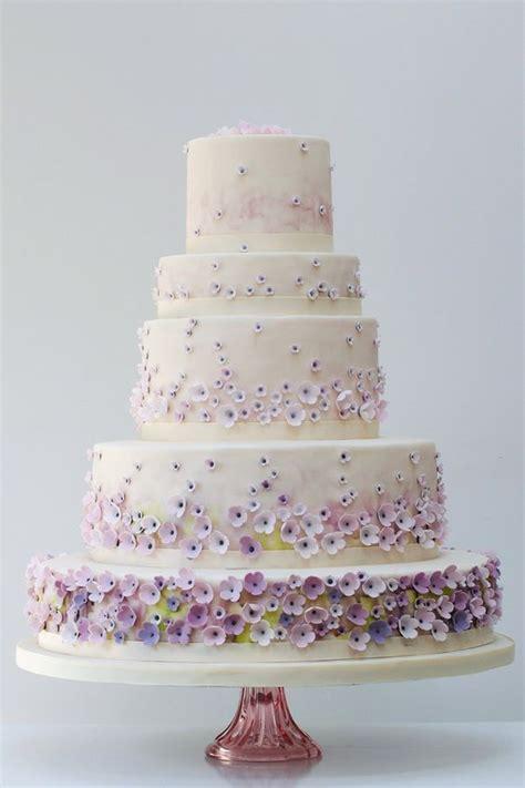 Exklusive Hochzeitstorten by Wiosenne Inspiracje W Kolorach Pastelowego Fioletu