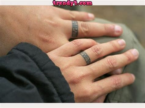 matching ring finger tattoos 1000 images about wedding band on j