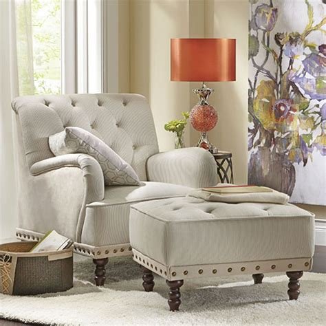 matching chair and ottoman decorating ideas neutral home decor