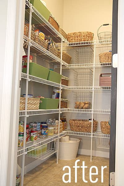 Wire Pantry Shelving by Pin Walk In Pantry Smart Space Design On