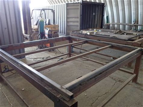welding box section steel shipping container wall build containers direct